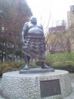 勾当台公園のお相撲さん