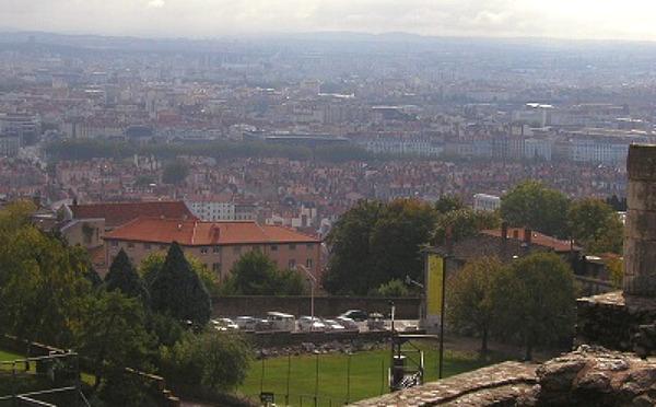 フルヴィエールの丘から見る景色は絶景かな