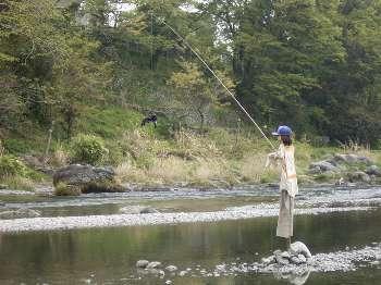 釣り人(マネキン)