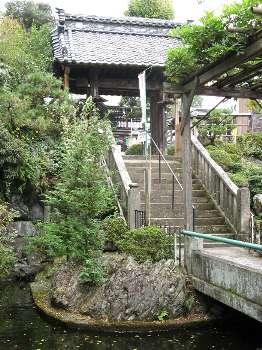 山門(清宝院)
