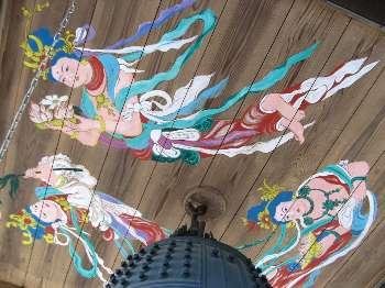 鐘楼の天井画