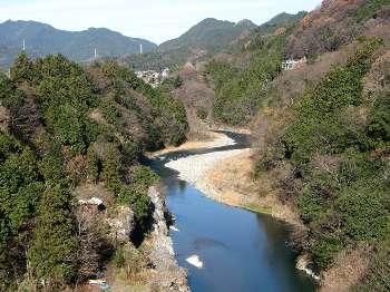 多摩川(神代橋より川上)
