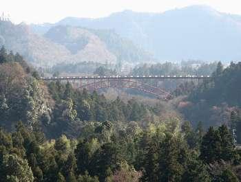 軍畑駅前から奥多摩橋