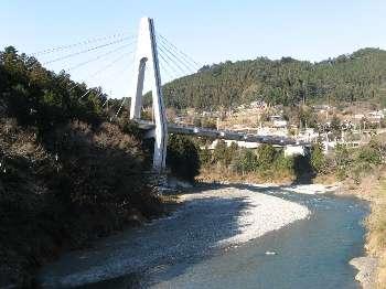 梅沢橋の上流