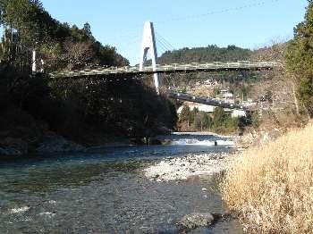 梅沢橋と奥多摩大橋
