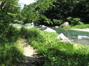 御岳渓谷遊歩道 2