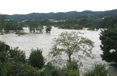 多摩川 2(台風9号)
