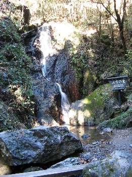 五常の滝(日和田山)