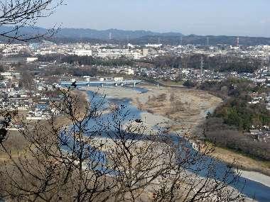 羽村神社からの展望 2