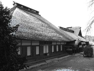 本堂、庫裏(広徳寺)