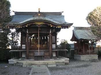新町天神社、水神社