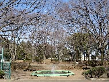 わかぐさ公園の噴水