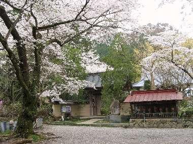 山門と地蔵 (光厳寺)