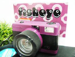 ロモグラフィカメラ FISHEYEパープル ロモ・フィッシュアイPURPLE