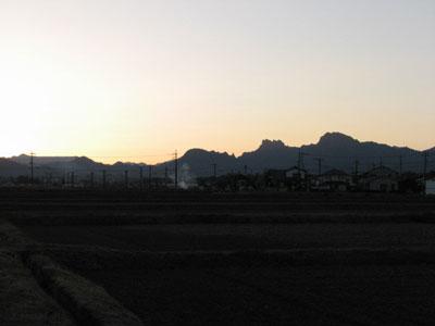 2008年12月31日 上毛三山 妙義山