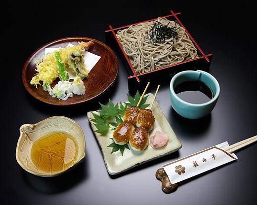 天ざる五平セット(ご昼食)