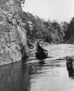 昭和40年頃の天竜川下り
