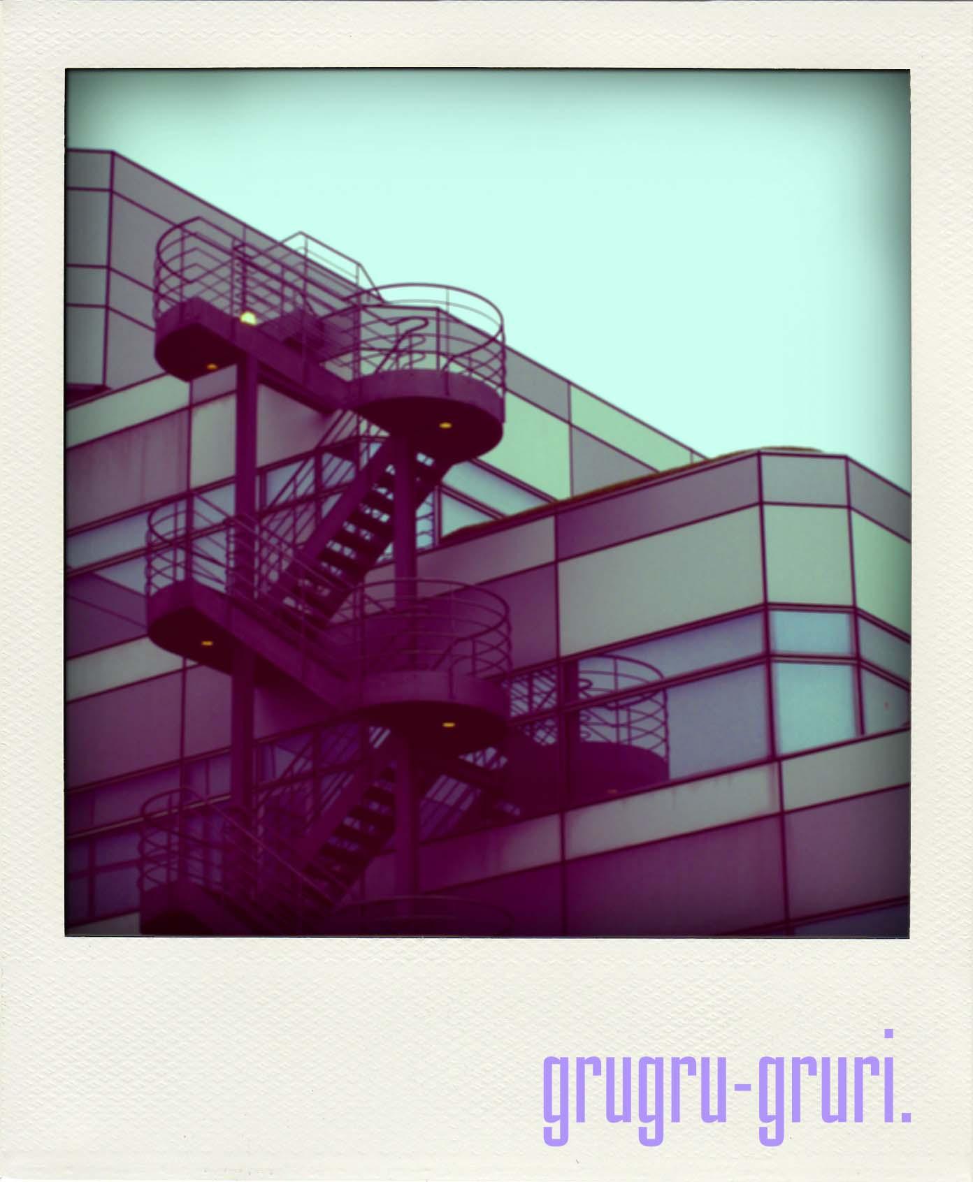 楕円の階段