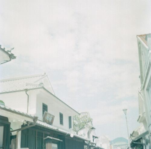 白壁の町並み