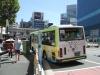 渋谷にアシベのゴマちゃんバス