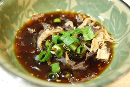 湯豆腐のたれ