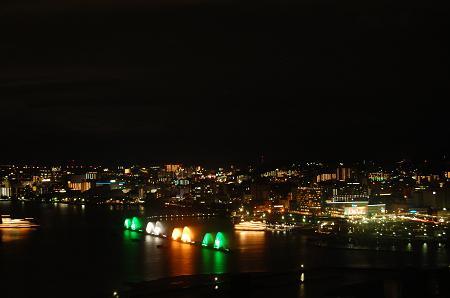 大津港周辺夜景