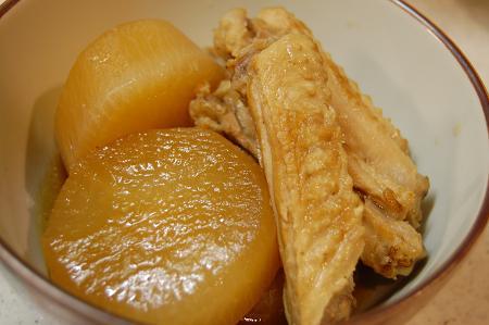 大根と鶏の煮物