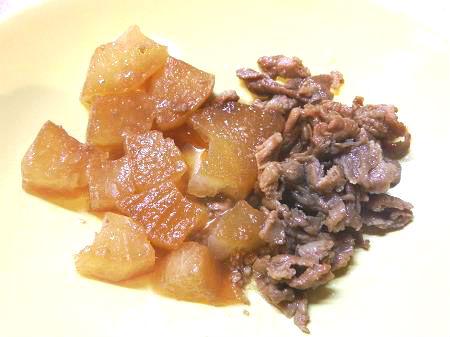 豚と大根の炒め煮