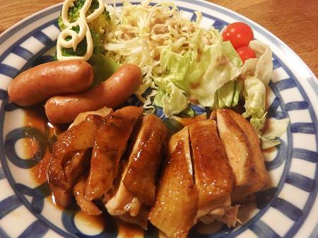 鶏の照り焼き