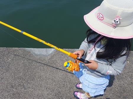 小浜港稚鮎釣り