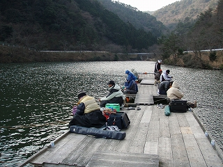 佐仲ダム ワカサギ 2008