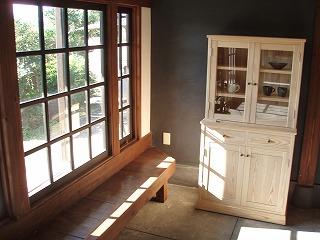 「陶・木・かずら 三人展」家具