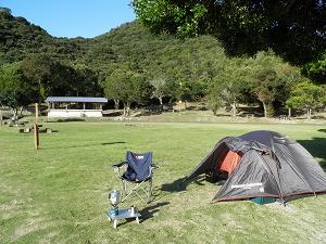 大崎キャンプ場 ソロキャンプ