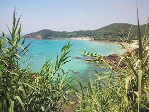 平戸・根獅子(ねしこ)の浜海水浴場