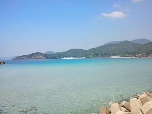 平戸・根獅子の浜海水浴場