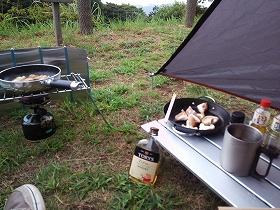 琴海赤水公園 ソロキャンプ