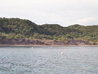 永ノ島炭鉱跡 石炭