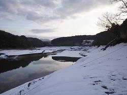 北山ダム ワカサギ釣り 湖岸