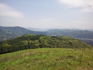 佐賀県武雄市の眉山キャンプ場