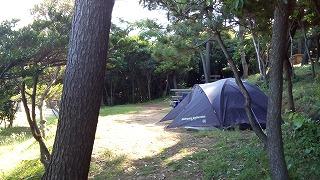 唐津市・波戸岬キャンプ場 一般サイト