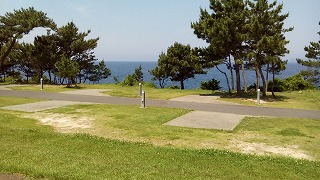 唐津市・波戸岬キャンプ場 オートキャンプサイト