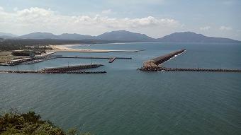 芦屋海岸 響灘