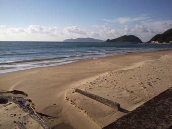 神湊・勝浦の浜辺