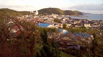 神湊漁港付近