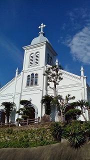 天草ツーリング・クルマエビと教会の島 大江教会