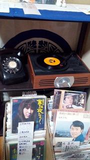 杖立温泉 新ひたや 昭和レコード