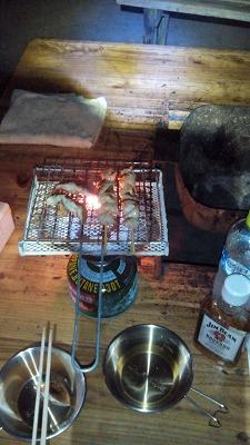 嬉野市・広川原キャンプ場 夕食
