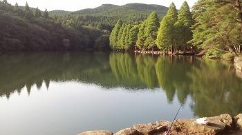 嬉野市・広川原キャンプ場 湖