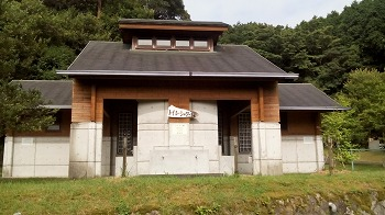 嬉野市・広川原キャンプ場 トイレ・シャワー棟