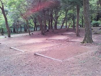 嬉野市・広川原キャンプ場 テントサイト